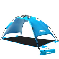 Weisshorn Pop Up Camping Tent Beach Portable Instant Up Hiking Sun Shade Shelter