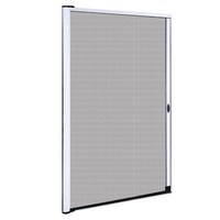 Instahut Retractable Magnetic Fly Screen Flyscreen Door Mesh Sliding 1.2m x 2.1m White