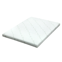 Giselle Bedding COOL GEL Memory Foam Mattress Topper BAMBOO Cover Queen 8CM Mat