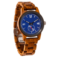 Handcrafted Ambila Wood Watch - Best Gift Idea!