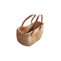 Woven Carry Basket (42x32x18cm)